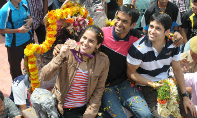 Saina, Gopichand and Kashyap