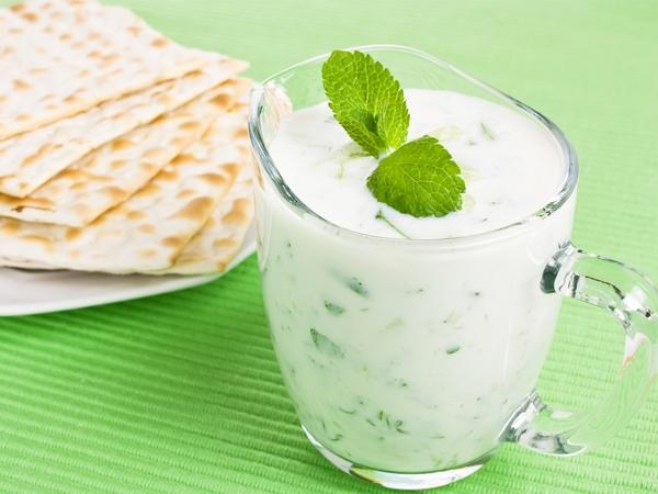 Healthy Snack Recipe: Creamy Cucumber Dip