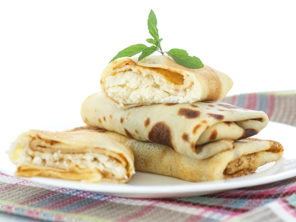 Healthy Recipe: Paneer And Spring Onion Wraps