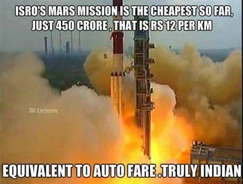 Mars Mission Meme