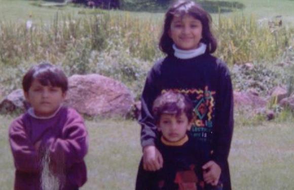 parineeti chopra as a child