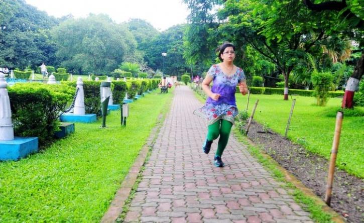 Morning Walk Delhi