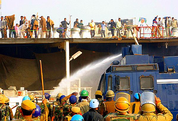 Rampal Hisar warzone scene