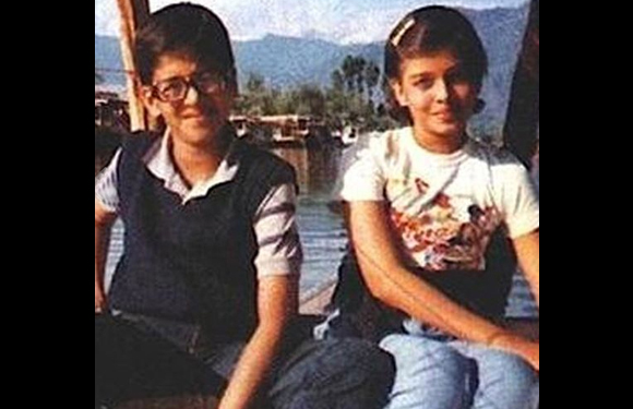 Ash Rai childhood picture