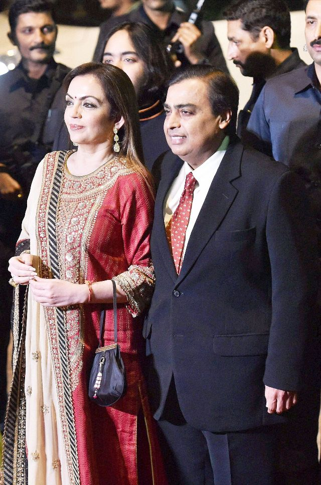 mukesh and tina ambani