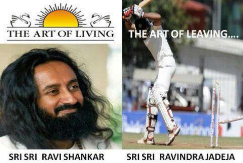 Ravindra Jadeja: Art of leaving