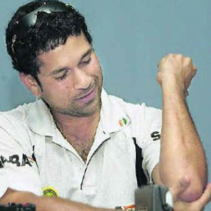 Sachin Tendulkar Tennis Elbow