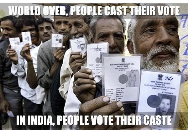 Caste voting