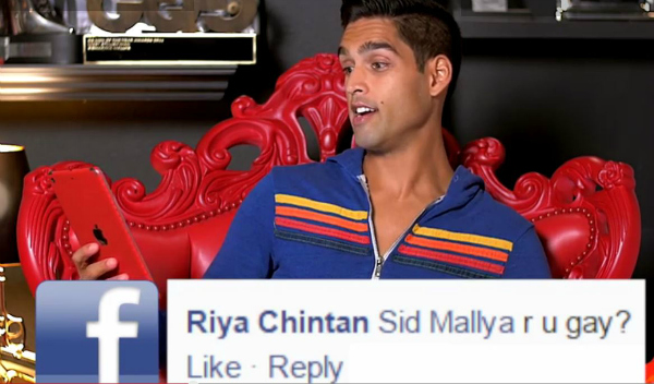 Facebook Sid Mallya