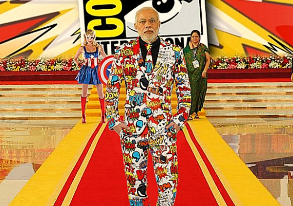 Modi Comic con funny
