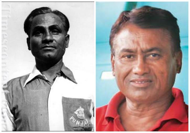 Dhyan Chand and Ashok Kumar