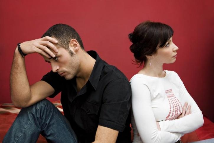 Divorce couple