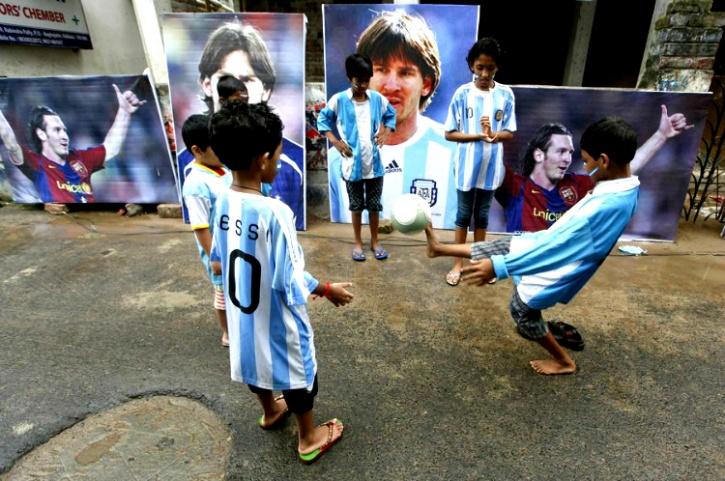 Kids in Kolkata