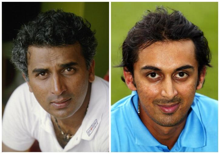 Sunil and Rohan Gavaskar