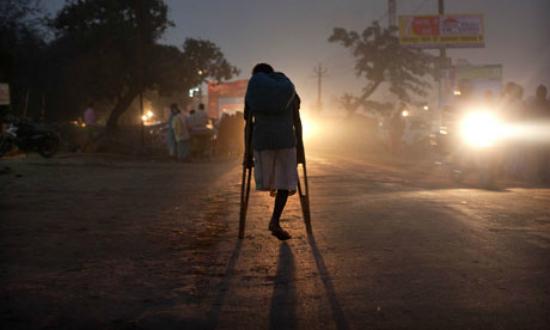 Handicapped india