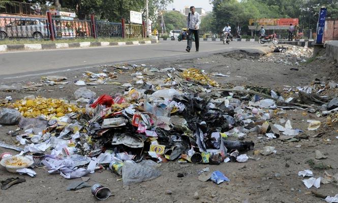 Jaipur street dirty