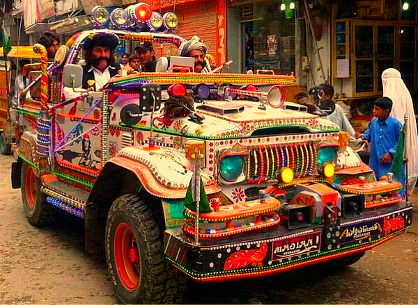 Pakistan car awesome funny