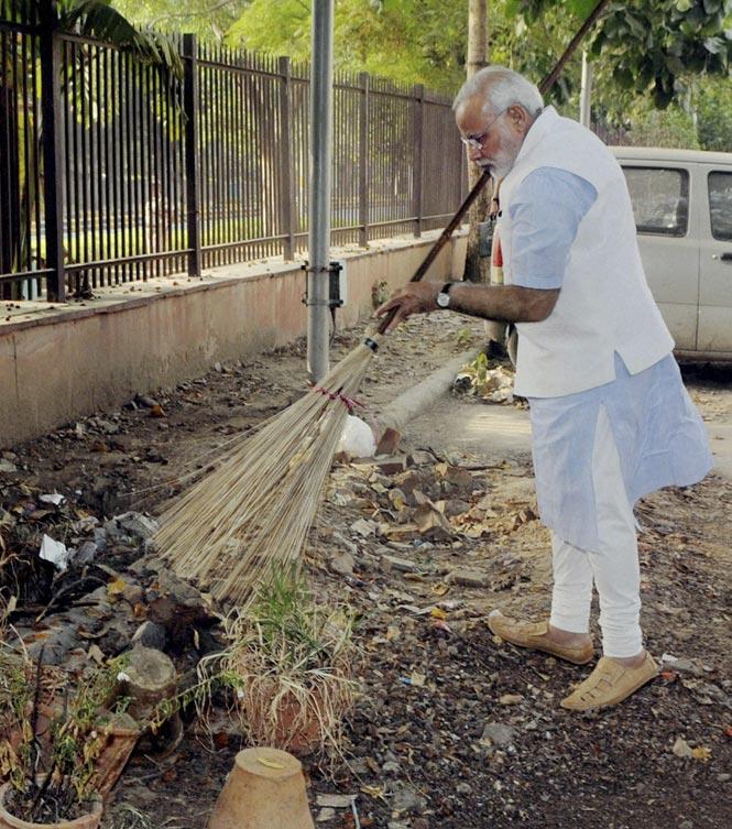 Modi cleaning