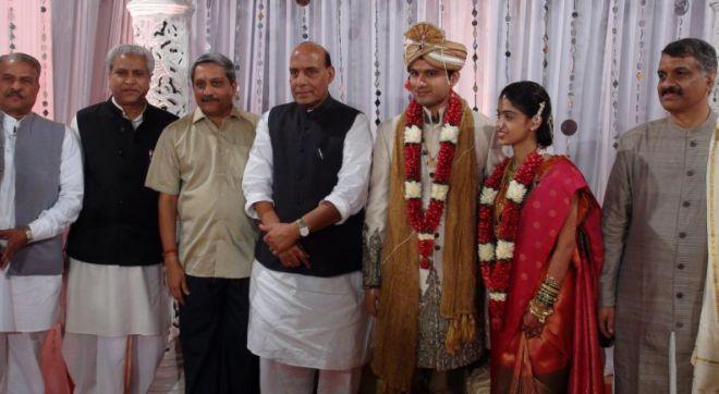 Manohar Parrikar son's wedding