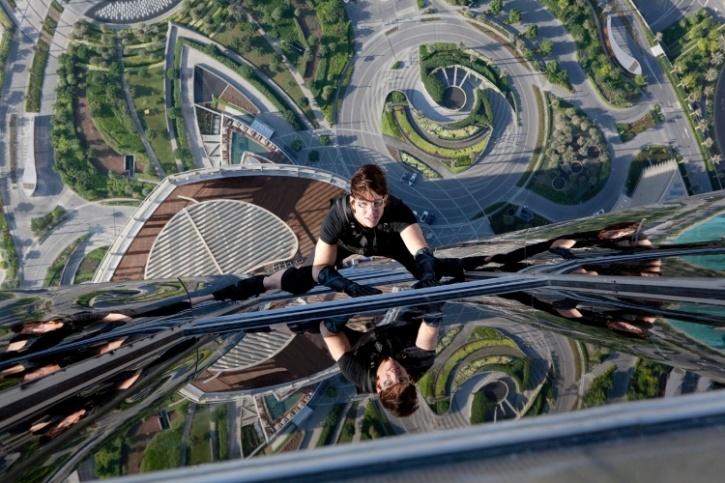 Burj Khalifa - Tom Cruise