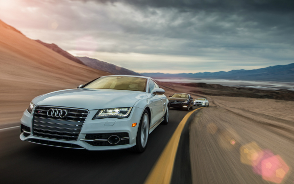 audi and other cars