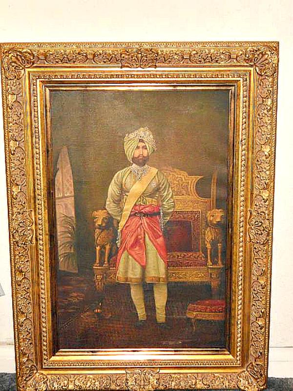 Maharaja Ranjit Singh portrait
