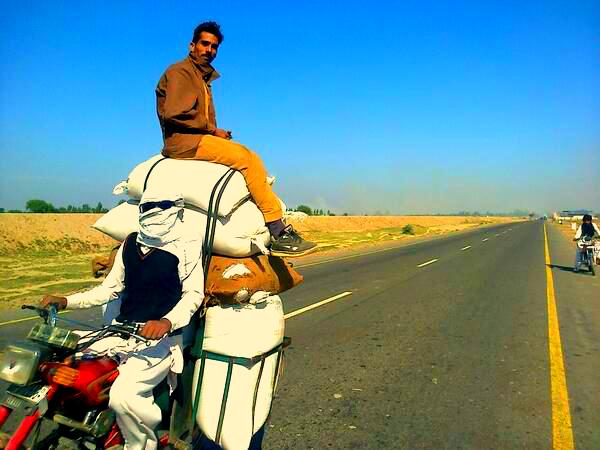 Pakistan rider