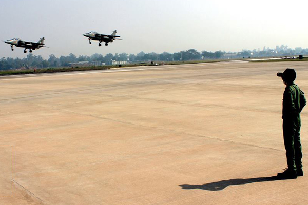 Chandan cancer patient at Indian Air force base
