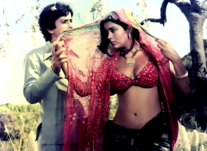 Zeenat Aman and Shashi Kapoor