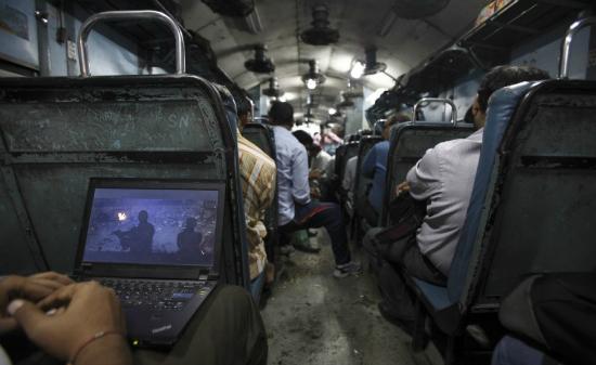train wifi india
