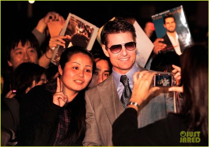 Tom Cruise Japan
