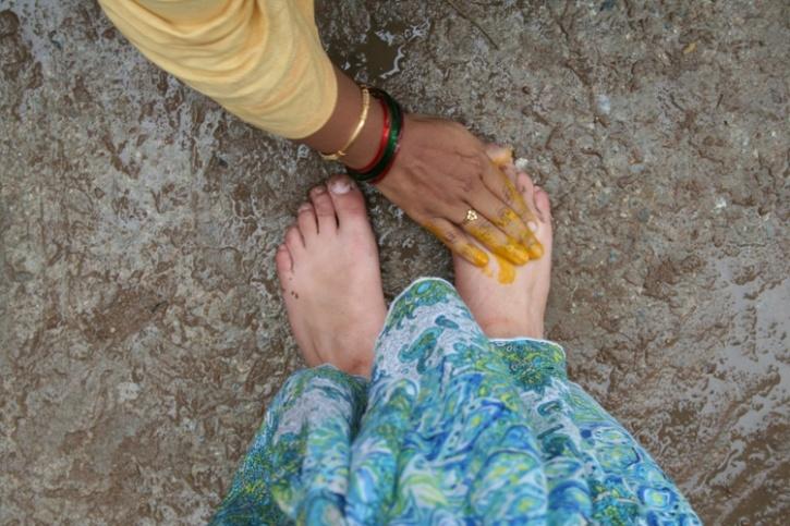 Touching Feet