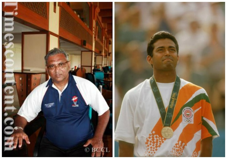 Vece and Leander Paes