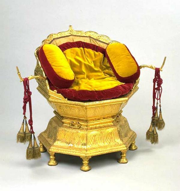 Maharaja Ranjit Singh's throne