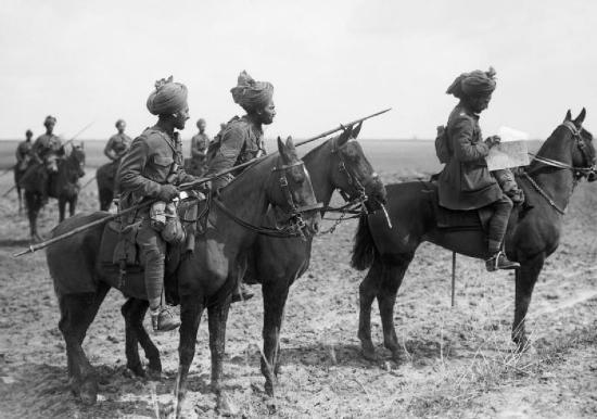 British Indian army horses