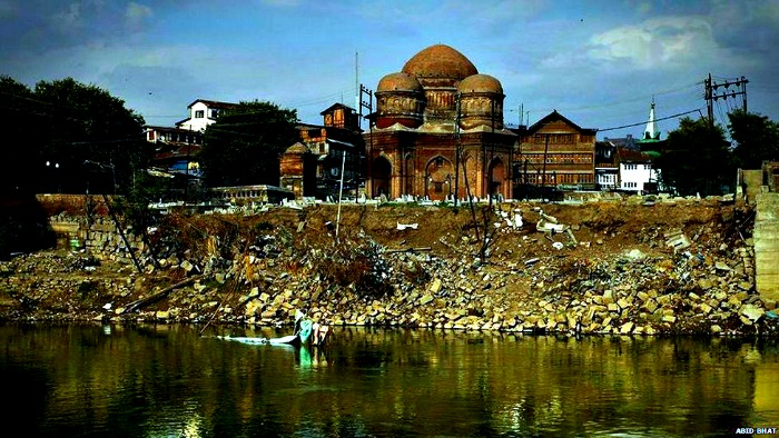 Kashmir floods damage