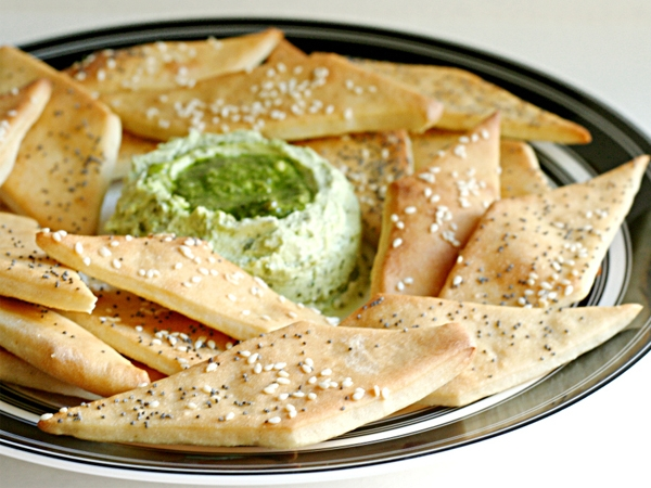 Healthy Snack Recipe: Lavash