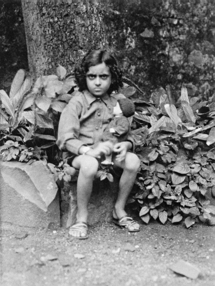 Indira Gandhi Childhood