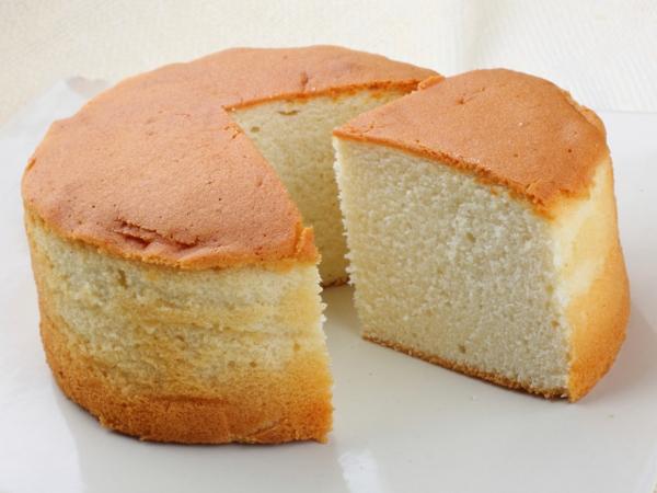 Healthy Dessert Recipe: Vanilla Sponge Cake