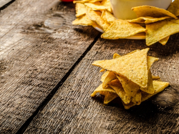 Healthy Snack Recipe: Baked Tortilla Chips
