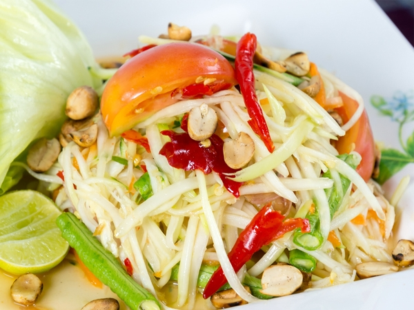Healthy Snack: Thai Bean Sprouts Salad