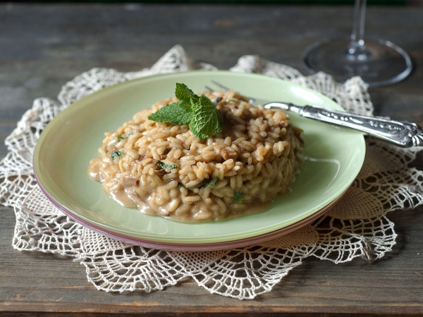 Healthy Brown Rice Risotto Recipe