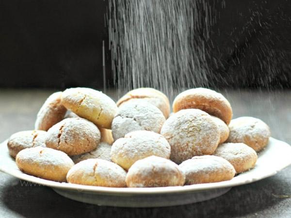 No Butter, No Eggs - Orange Festive Cookies