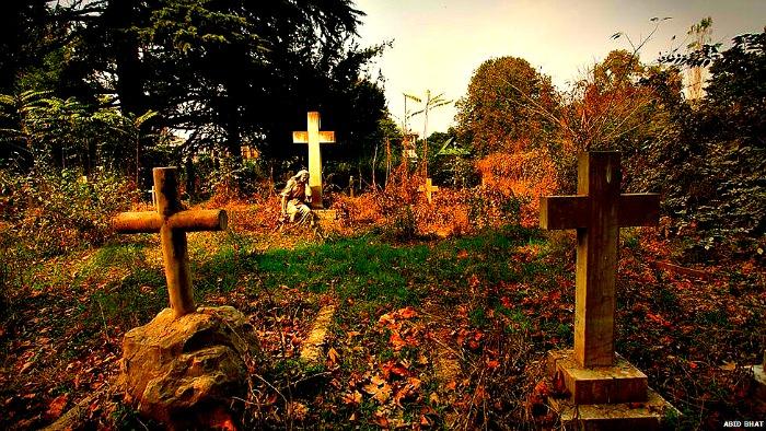 Kashmir  Christian cemetery