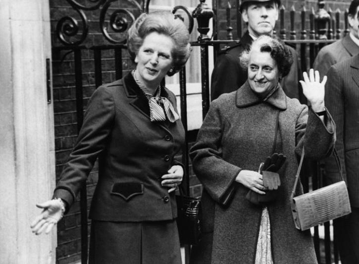 Indira Gandhi and Margaret Thatcher