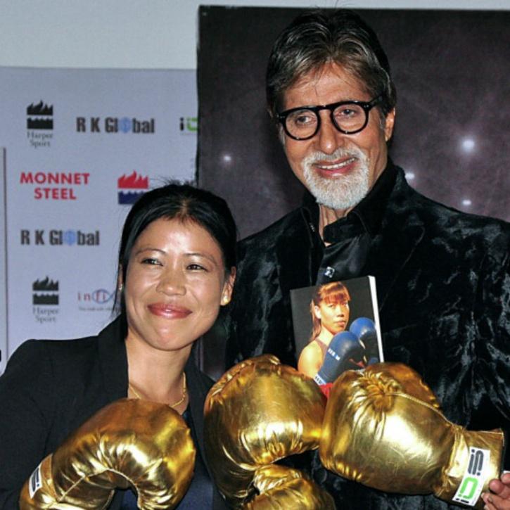 Mary Kom and Amitabh Bachchan