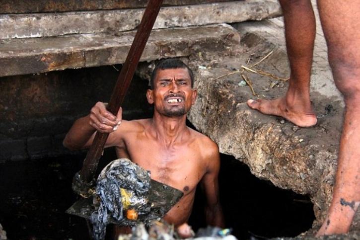 Manual Scavenger Swacch Bharat