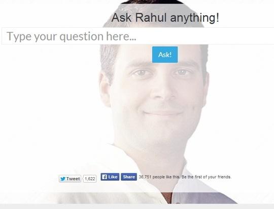 Ask Rahul Anything