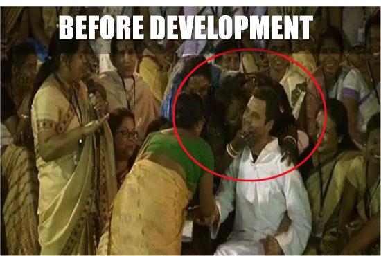 Rahul Gandhi women