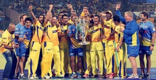 Chennai Win